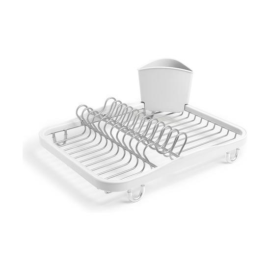 Сушилка для посуды Sinkin, белый-никель
