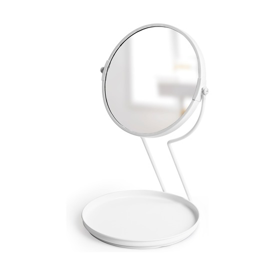 Зеркало See me настольное, белое