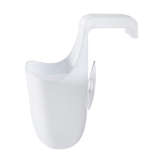 Органайзер для раковины Saddle боковой, белый