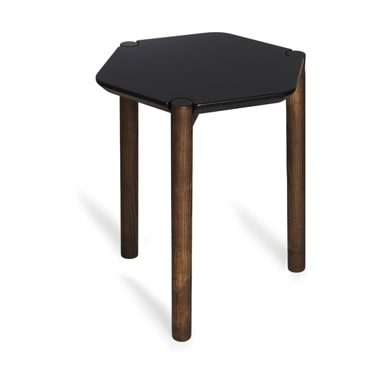 Приставной столик Lexy, чёрный
