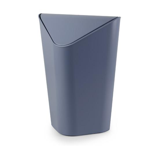 Корзина для мусора Corner угловая, дымчато-синяя