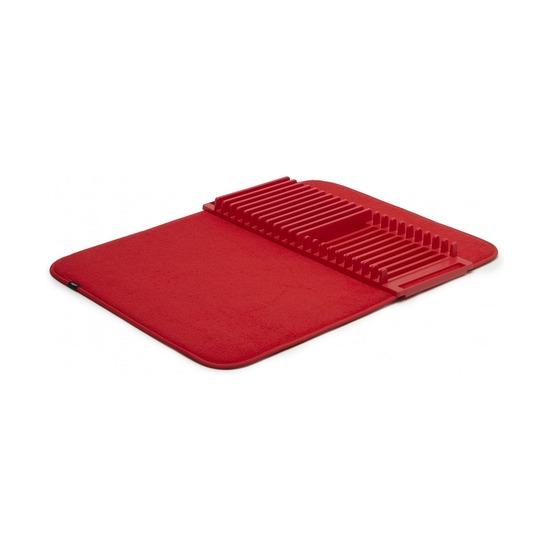 Коврик для сушки посуды Udry, красный