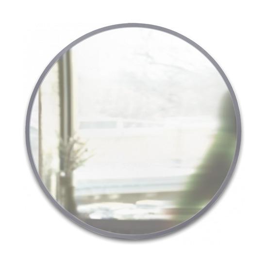 Зеркало настенное Hub, D94, серое