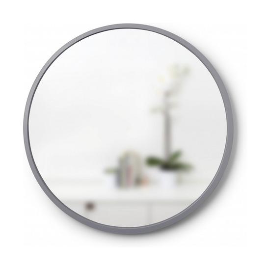 Зеркало настенное Hub, 61 см, серое