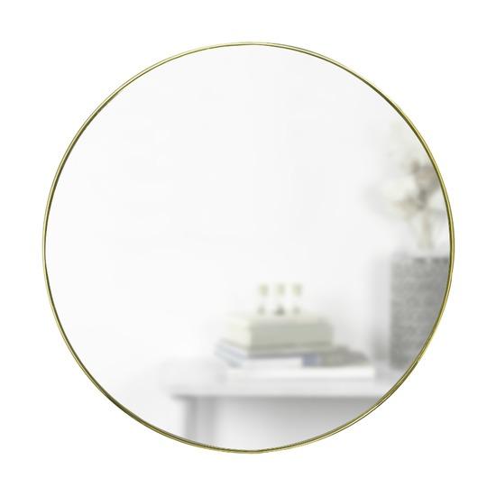 Зеркало настенное Hubba 86 см, латунь