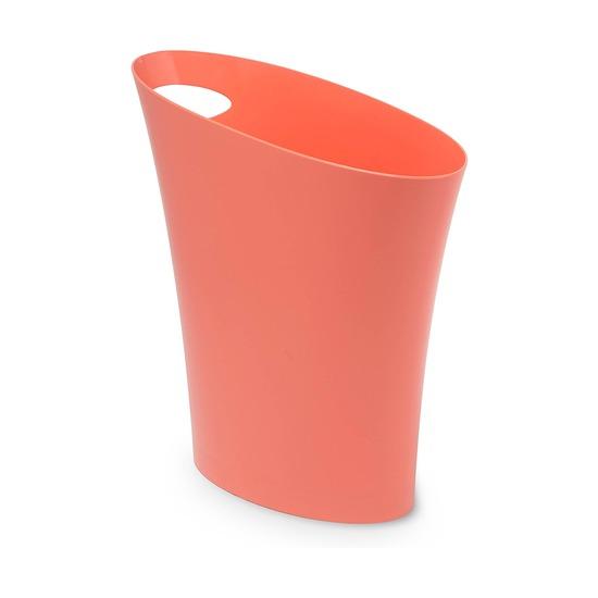 Контейнер мусорный Skinny, розовый