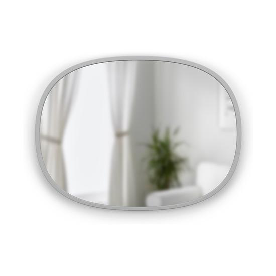 Зеркало овальное Hub, 45 х 60 см, серое