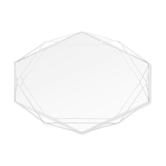 Зеркало настенное Prisma, белое