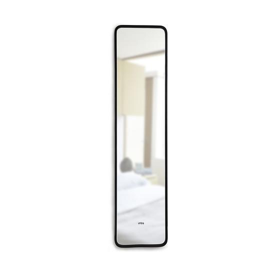Зеркало Hub, 157 х 37 см, черное