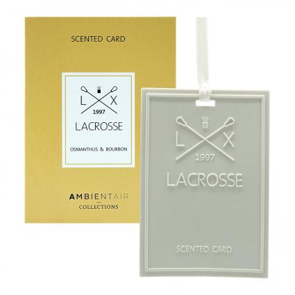 Карточка ароматическая Lacrosse Османтус и Бурбон