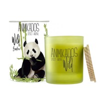 Свеча ароматическая Animikados Wild Bamboo, 40 ч