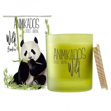 Свеча ароматическая Ambientair Panda Wild Бамбуковый, 40 ч