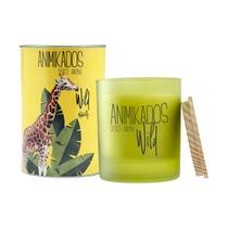 Свеча ароматическая Animikados Wild Waterlily, 40 ч