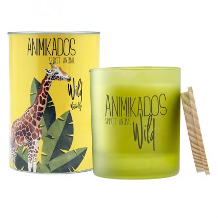 Свеча ароматическая Ambientair Giraffe Wild Водная лилия, 40 ч