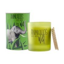 Свеча ароматическая Animikados Wild Fresh Green, 40 ч