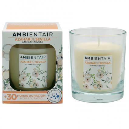 Свеча ароматическая Ambientair Цветки апельсина из Севильи, 30 ч