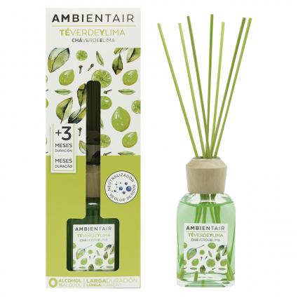 Диффузор ароматический Ambientair Зеленый чай и лайм, 100 мл