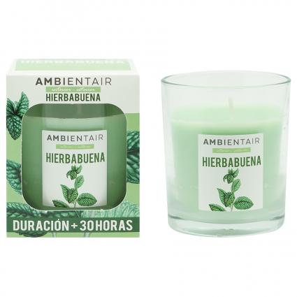 Свеча ароматическая Ambientair Garden Мята, 30 ч
