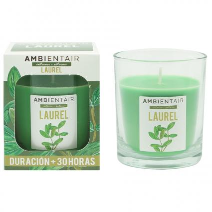 Свеча ароматическая Ambientair Garden Лавр, 30 ч