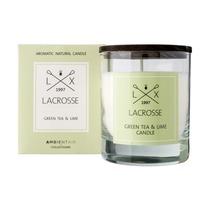 Свеча ароматическая Lacrosse Зеленый чай и Лайм, круглая, 40 ч