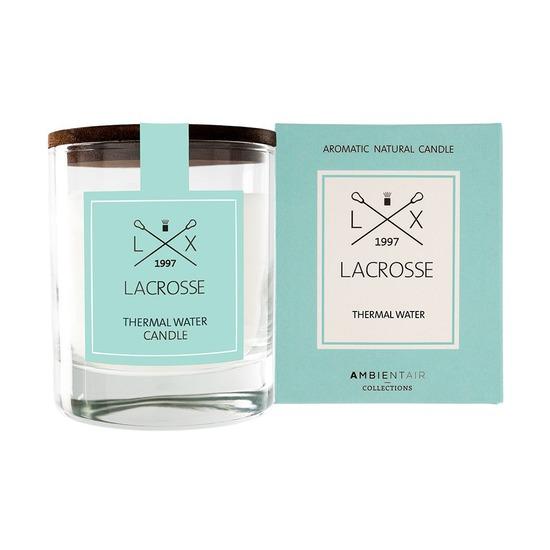 Свеча ароматическая Lacrosse Термальный источник, круглая, 40 ч