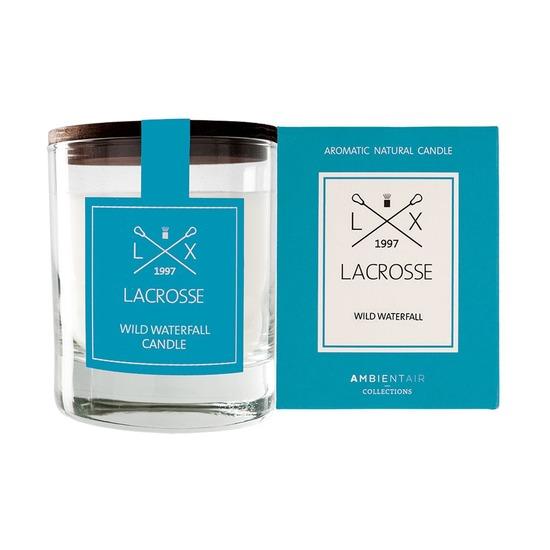 Ароматическая свеча в стекле Ambientair Lacrosse Дикий водопад, круглая