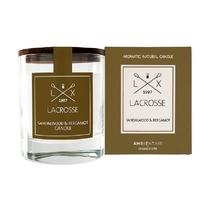 Свеча ароматическая Lacrosse Сандал и бергамот, круглая, 40 ч