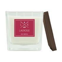 Свеча ароматическая Lacrosse Красные ягоды, квадратная, 60 ч