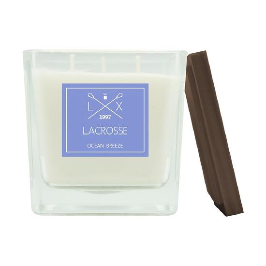 Свеча ароматическая Lacrosse Океанский бриз, квадратная, 60 ч