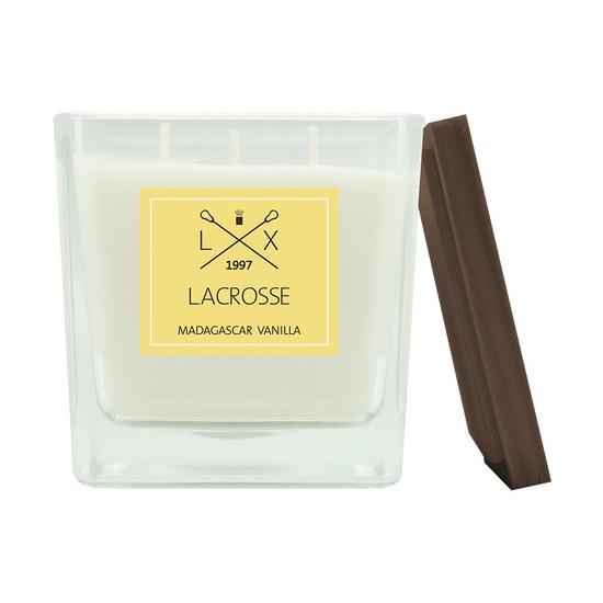 Свеча ароматическая Lacrosse Мадагаскарская ваниль, квадратная, 40 ч