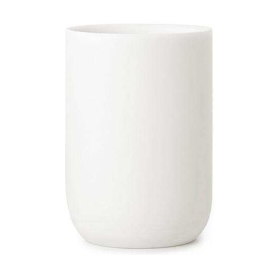 Органайзер-стакан для зубных щеток Junip, белый