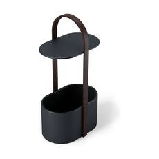 Полка-органайзер Hub, черный орех
