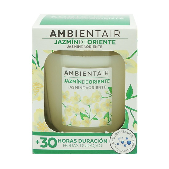 Свеча ароматическая Ambientair Белый жасмин, 30 ч