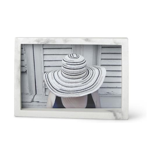 Рамка для фотографий Edge, 10х15 см, мрамор