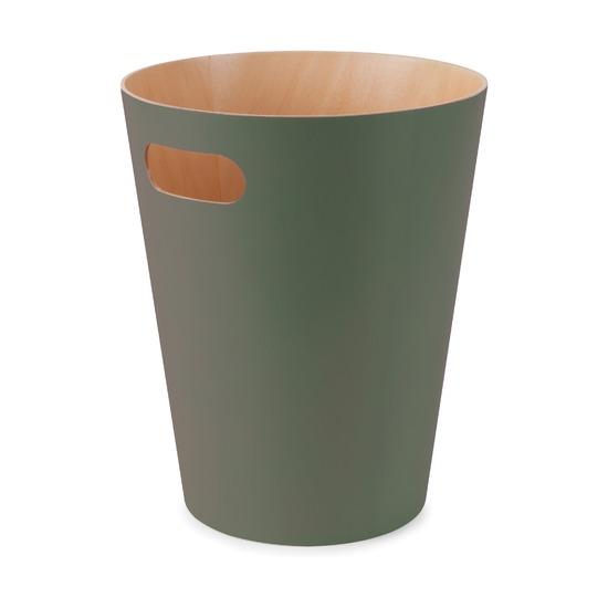 Корзина для мусора Woodrow, зелёная