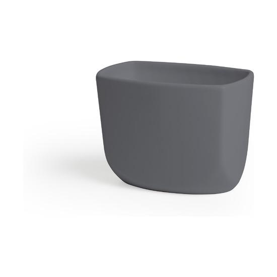 Стакан для зубных щёток Corsa, тёмно-серый
