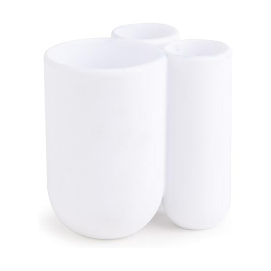 Стакан для зубных щеток Touch, белый