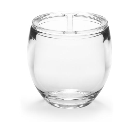 Стакан для зубных щеток Droplet, прозрачный