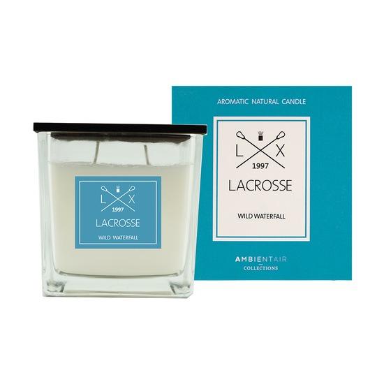 Свеча ароматическая Lacrosse Дикий водопад, квадратная, 60 ч