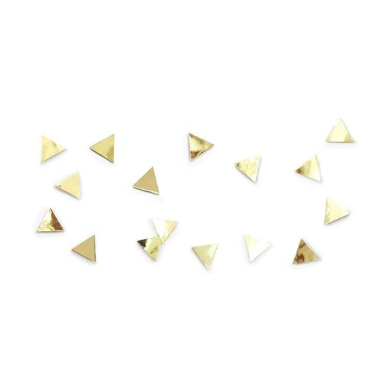 Декор для стен Confetti triangles, латунь