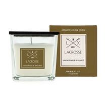 Ароматическая свеча в стекле Ambientair Lacrosse, Сандал и бергамот, 8х8 см