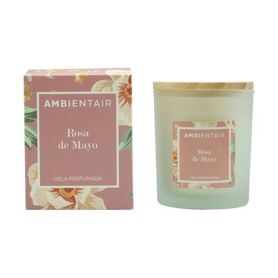 Свеча ароматическая Ambientair Floral Майская роза, 30 ч