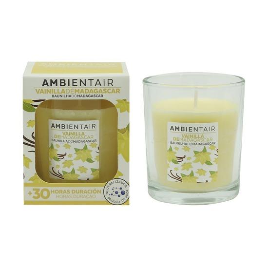 Свеча ароматическая Ambientair, Мадагаскарская ваниль, 30 ч