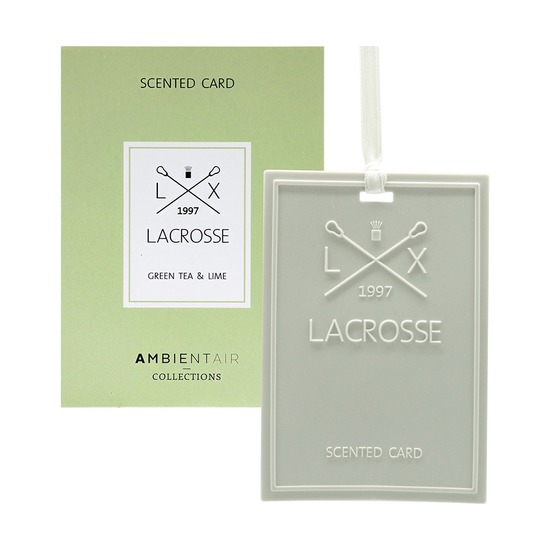 Карточка ароматическая Lacrosse Зеленый чай и лайм