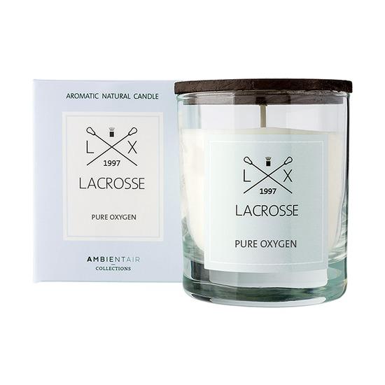 Свеча ароматическая Lacrosse Кислород, круглая, 40 ч