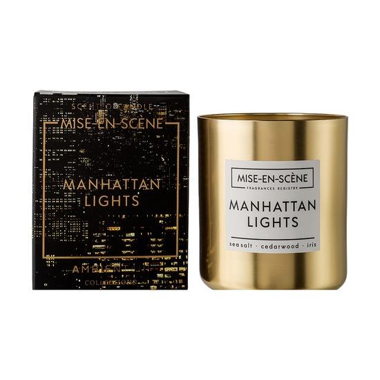 Свеча ароматическая Mise En Scene Manhattan Lights, 50 ч