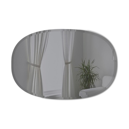 Зеркало овальное Hub, 61 х 91 см, дымчатое