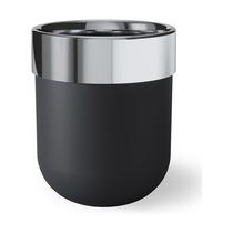 Корзина для мусора Junip, черный-хром