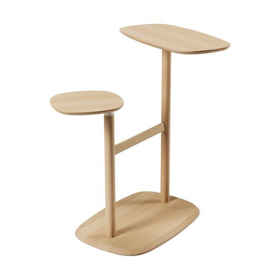 Столик приставной Swivo, натуральное дерево