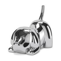 Подставка для колец Zoola щенок, хром